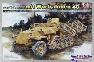 Image not found :Sd.Kfz. 251/2 Ausf. C mit Wurfrahmen 40