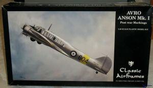 Image not found :Avro Anson Mk.I Post War Markings