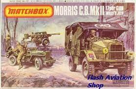 Image not found :Morris C.8.MK II & 17pdr Gun, Willys Jeep