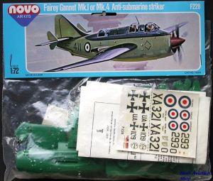 Image not found :Fairey Gannet Mk.I or Mk.4 (covor folded in bag)