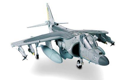 Image not found :AV-8 Harrier Plus, USMC 'Flying Tigers'
