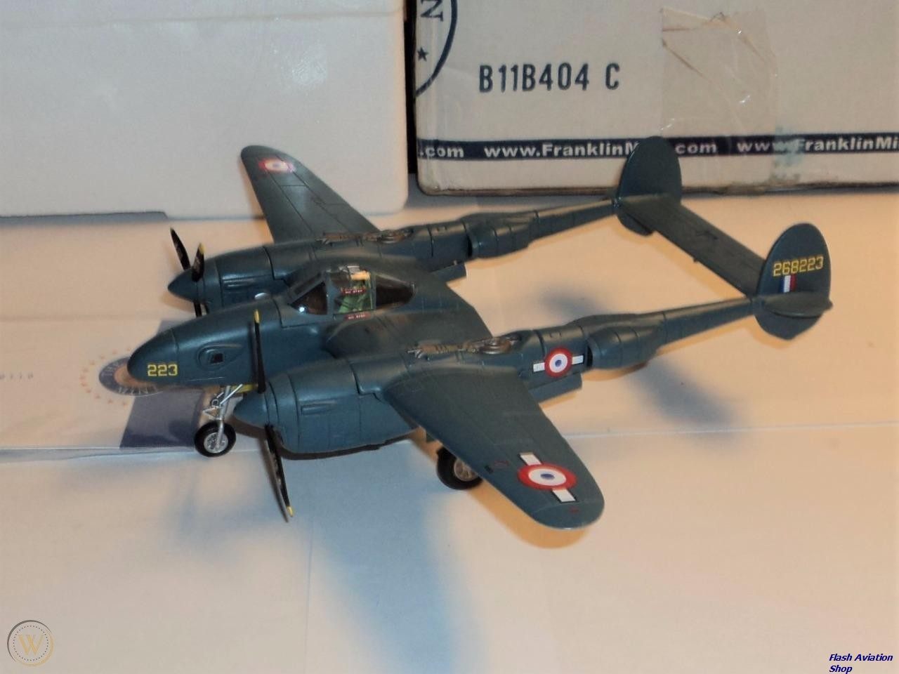 Image not found :(98117) P-38 Lightning St. Exupery, Armee de l'Air