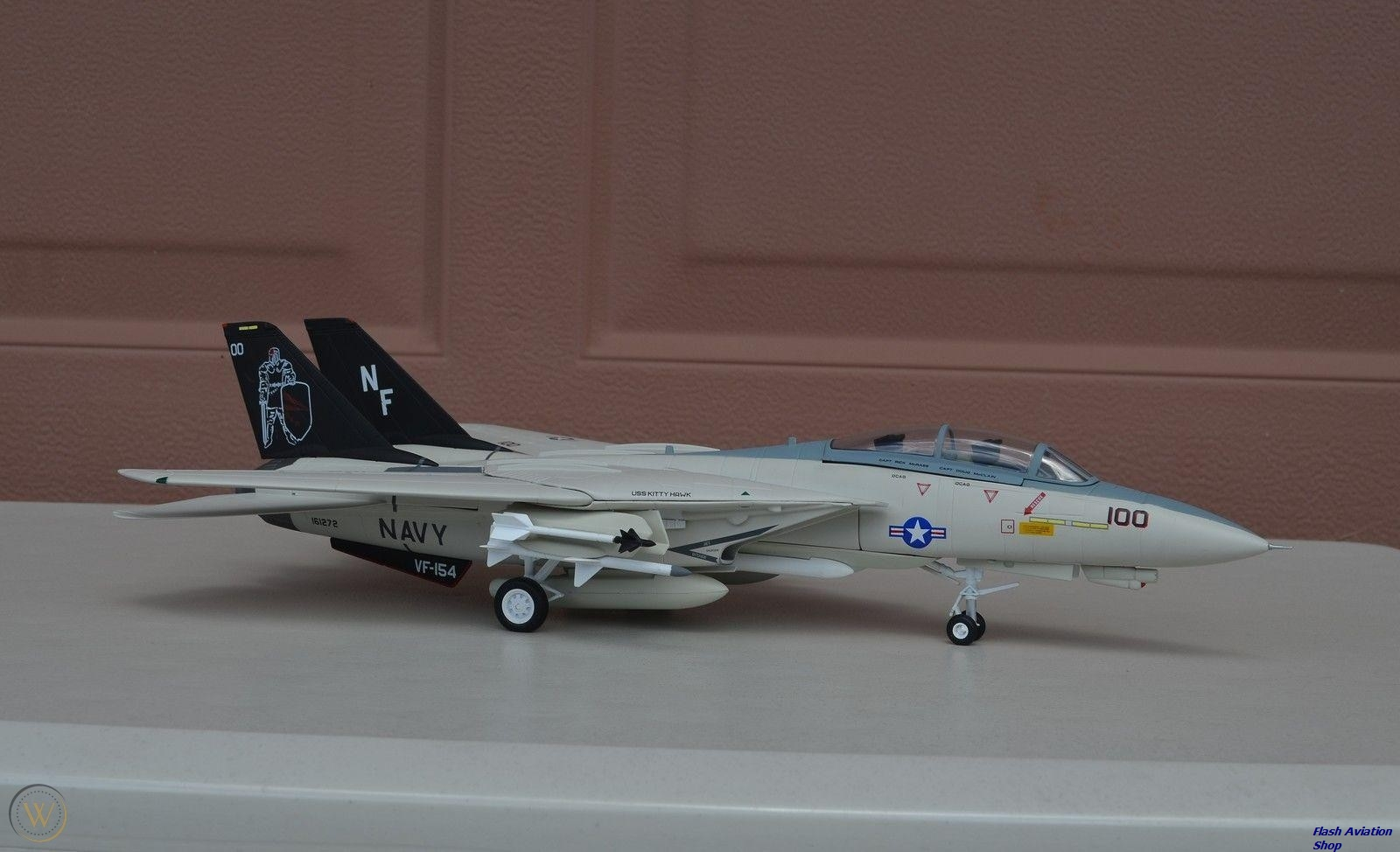 Image not found :F-14A Tomcat 'Black Knights', US Navy
