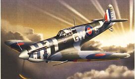 Image not found :Spitfire Mk.V Bernard Duperier, RAF