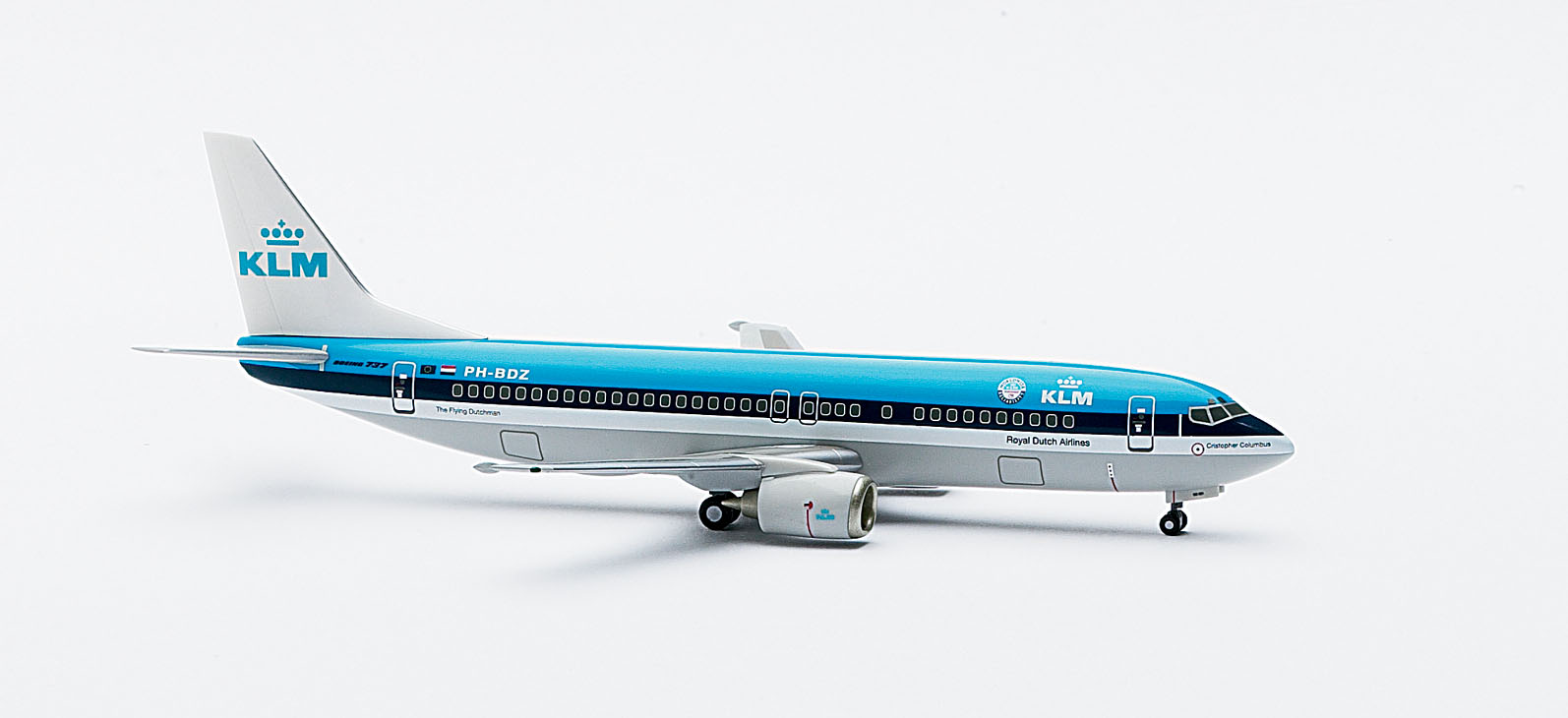 Image not found :Boeing 737-400, KLM