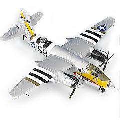 Image not found :B-26B-55 Marauder, USAAF, Big hairy bird