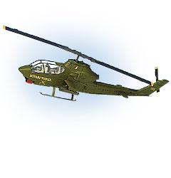 Image not found :Cobra AH-1G Widow Maker, US Army