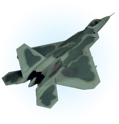 Image not found :F-22 Raptor '01', USAF (very rare)