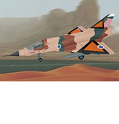 Image not found :Mirage IIIC Israel Air Force Yomm Kipp