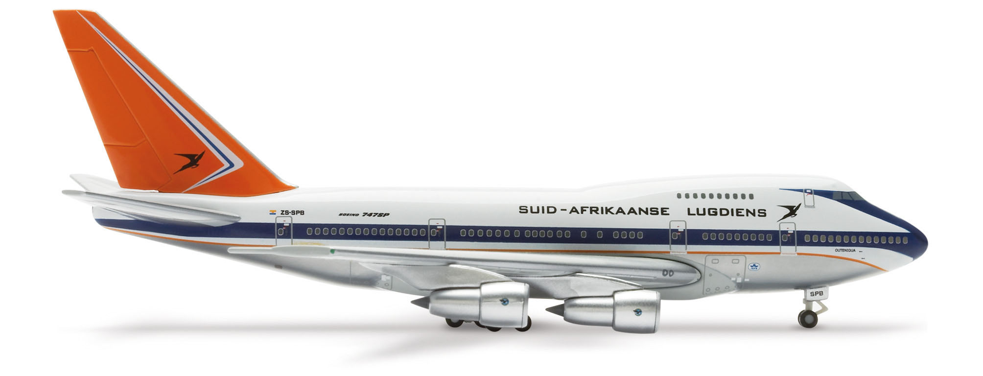 Image not found :Boeing 747SP South African Airways '75th Anniversary commemoratio