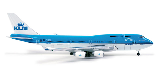 Image not found :Boeing 747-400, KLM (NL)