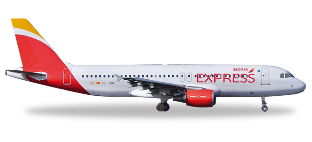 Image not found :Airbus A320, Iberia Express