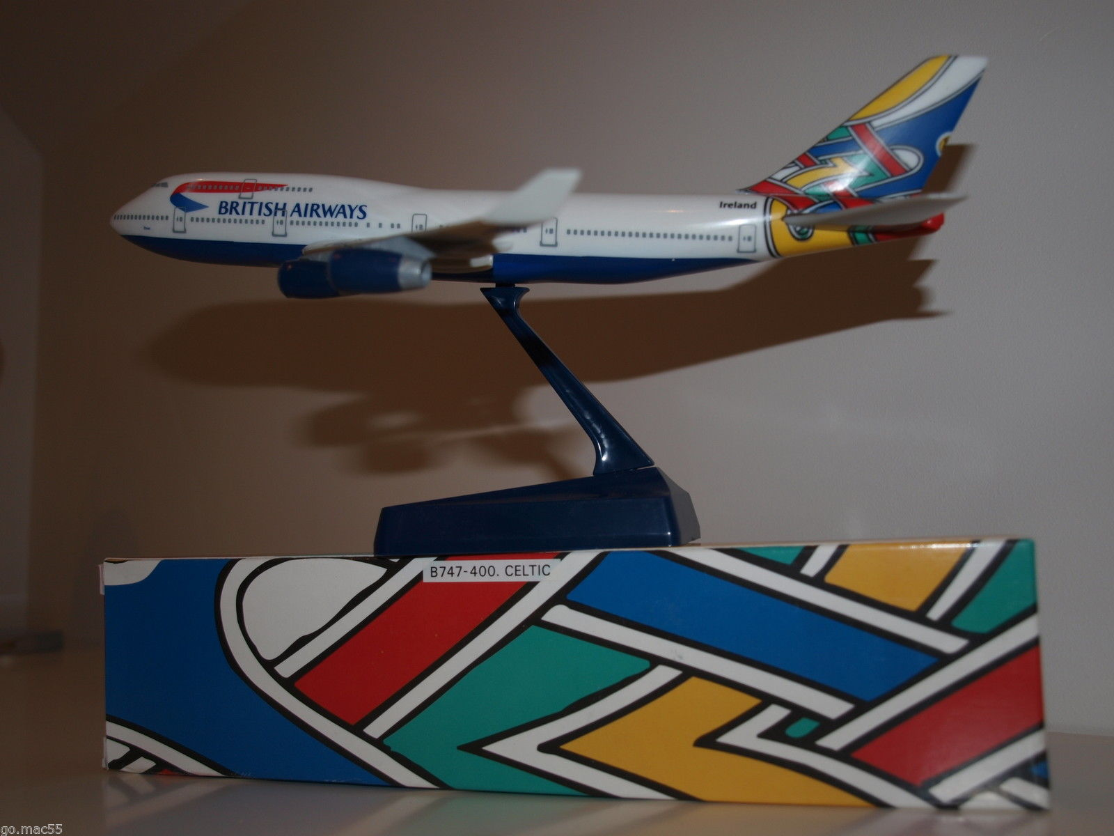 Image not found :British Airways Celtic Utopia Livery Boeing B747-400