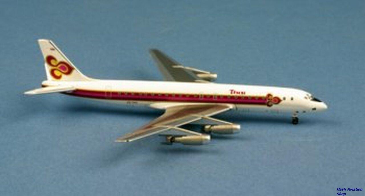Image not found :Thai International Douglas DC8-32 HS-TGO