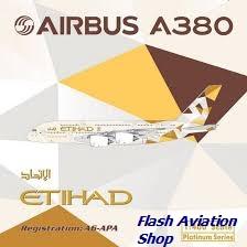 Image not found :Etihad Airbus A.380 A6-APA