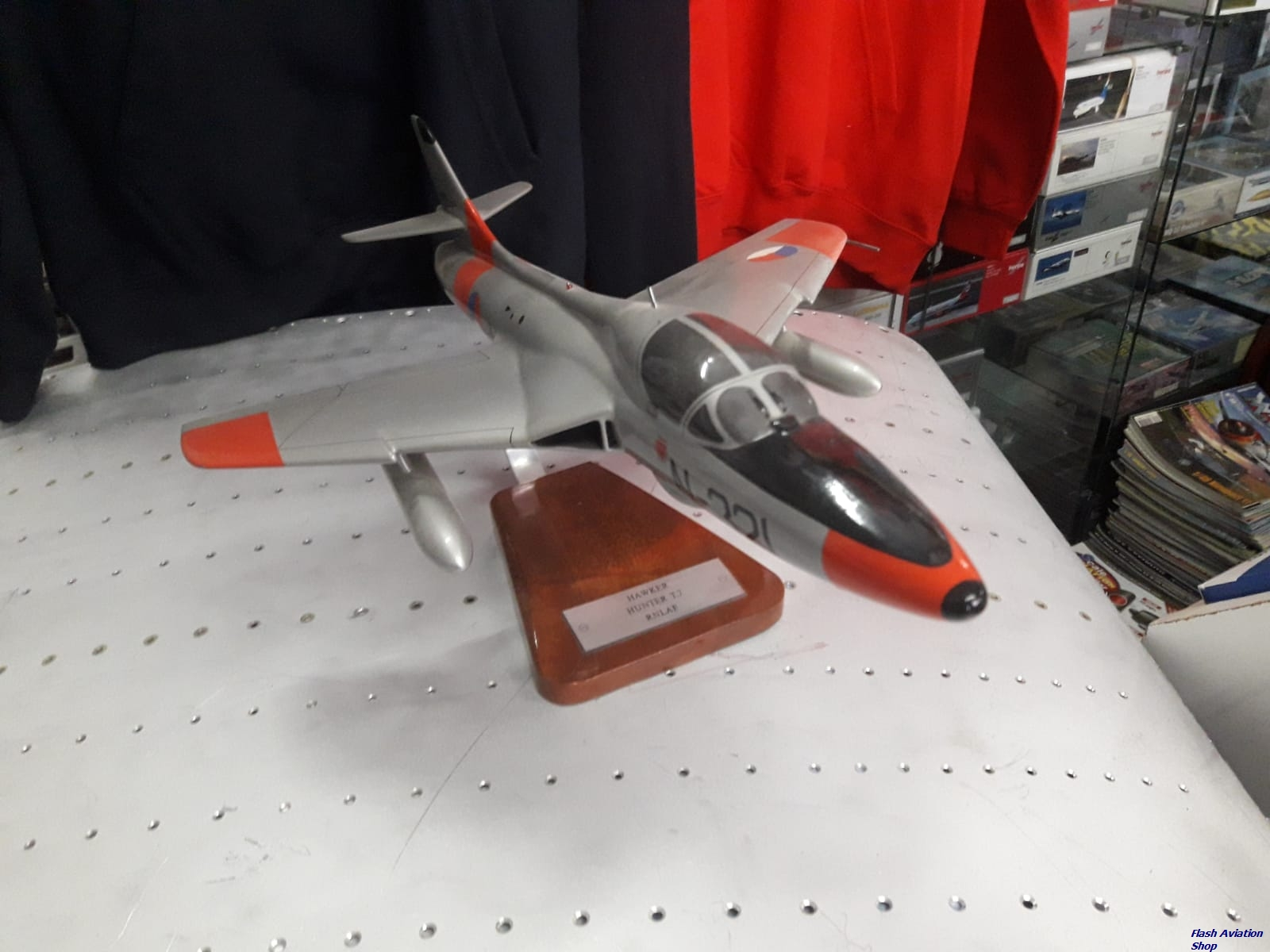 Image not found :Hawker Hunter T.Mk.7 KLu N-321