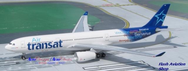 Image not found :Air Transat n/c A330-300 C-GTSD