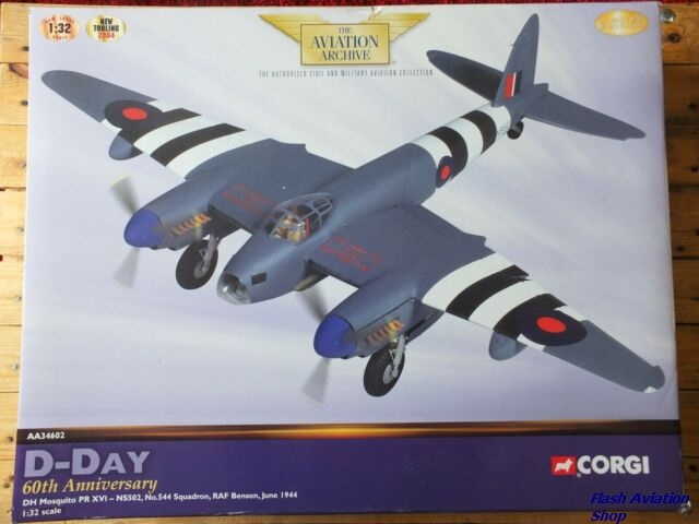 Image not found :DH Mosquito PR.XVI NS502 544 Squadron D-Day 60th Anniversary