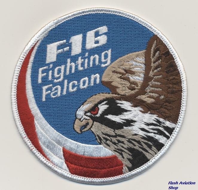 Image not found :F-16 Fighting Falcon (Swirl)