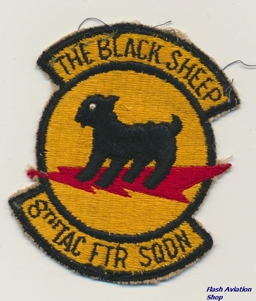 Image not found :8th Tac Ftr Sqdn, the Black Sheep (old)