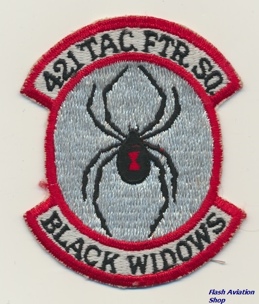 Image not found :421 Tac Ftr Sq; Black Widows