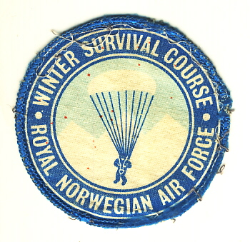 Image not found :Winter Survival Course, Royal Norwegian Air Force