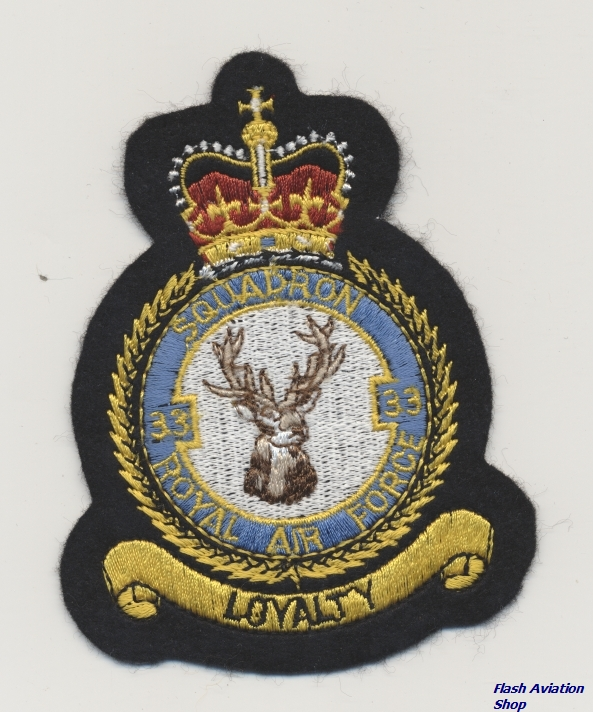 Image not found :Squadron 33, Royal Air Force,