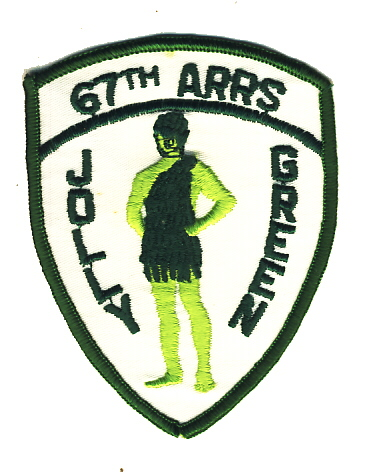 Image not found :67th ARRS, Jolly Green (10cm)