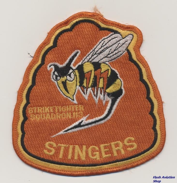 Image not found :Strike Fighter Squadron 113 'Stingers' (Orange)