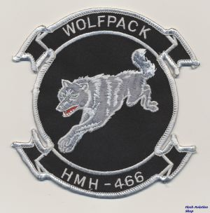 Image not found :HMH-466 'Wolfpack' (13 cm)(one wolve)