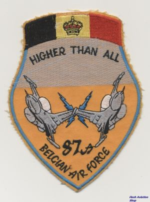 Image not found :87a, Belgian Air Force,
