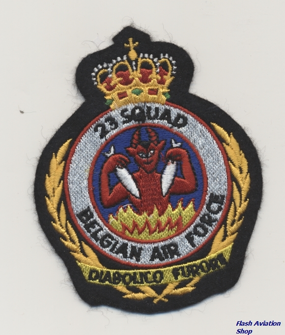 Image not found :23 Squad Belgian Air Force
