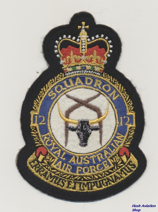 Image not found :Squadron 12, Royal Australian Air Force,