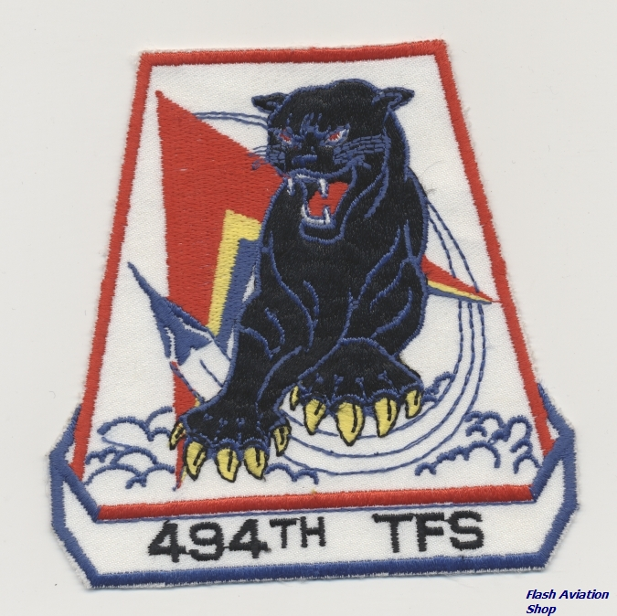 Image not found :494th TFS (10cm)(blue leg, blue border)
