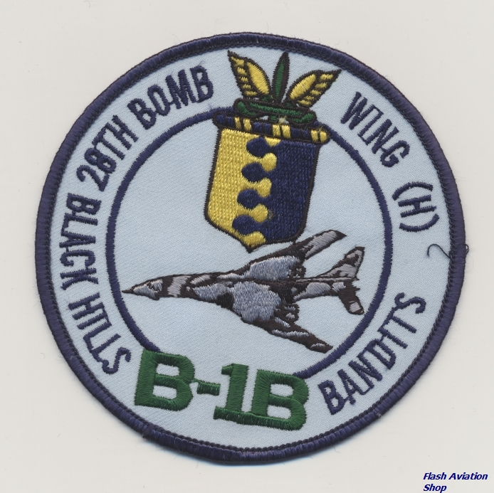 Image not found :B-1B, 28th Bomb Wing (H), Black Hills Bandits
