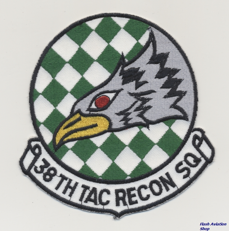 Image not found :38th Tac Recon Sq (11,5cm)