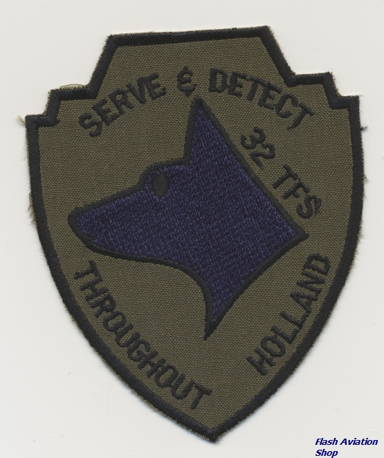 Image not found :Serve & Detect, 32 TFS, Throughout Holland (TD)