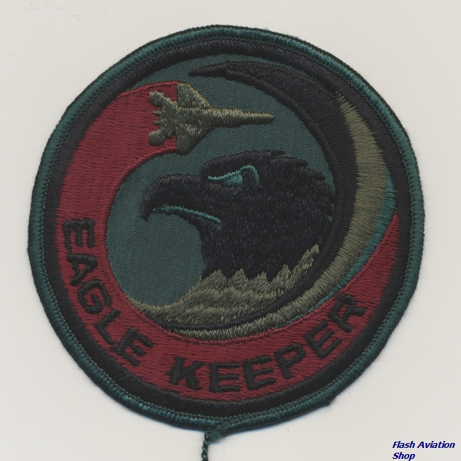Image not found :Eagle Keeper (swirl, plastic back)