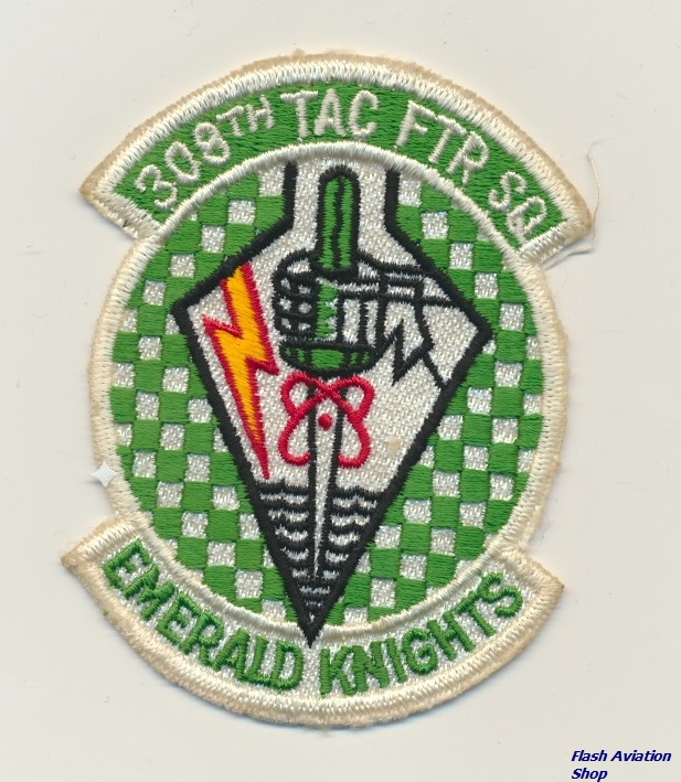 Image not found :308th Tac Ftr Sq, Emerald Knights