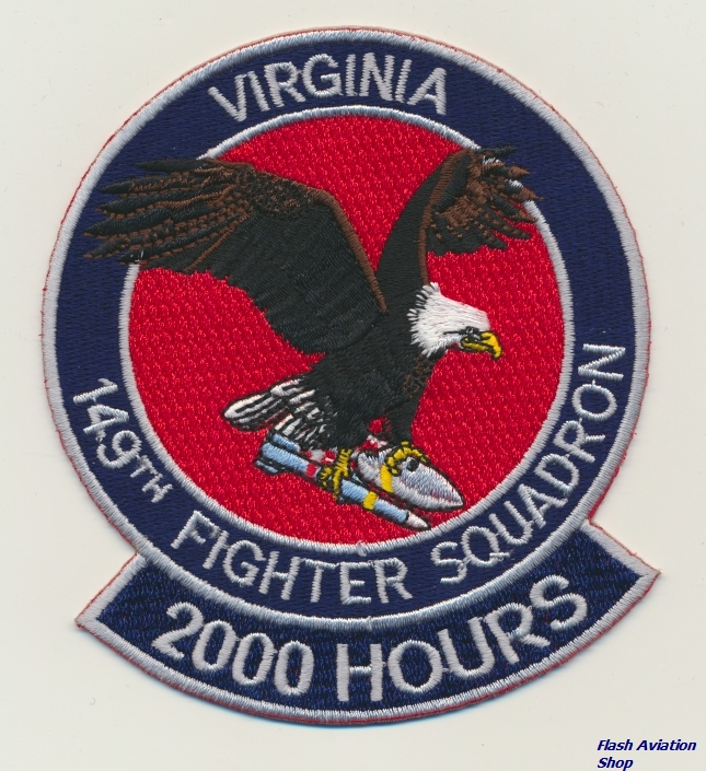 Image not found :149th Fighter Squadron, Virginia, 2000 Hours (F-16C/D)