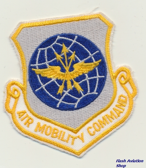 Image not found :Air Mobility Command (yellow, white outline)