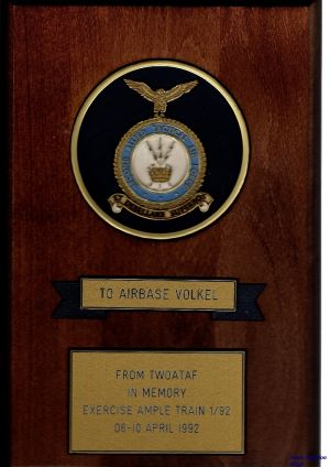 Image not found :To Airbase Volkel, From TwoATAF in Memory Exercise Ample Train 1/92