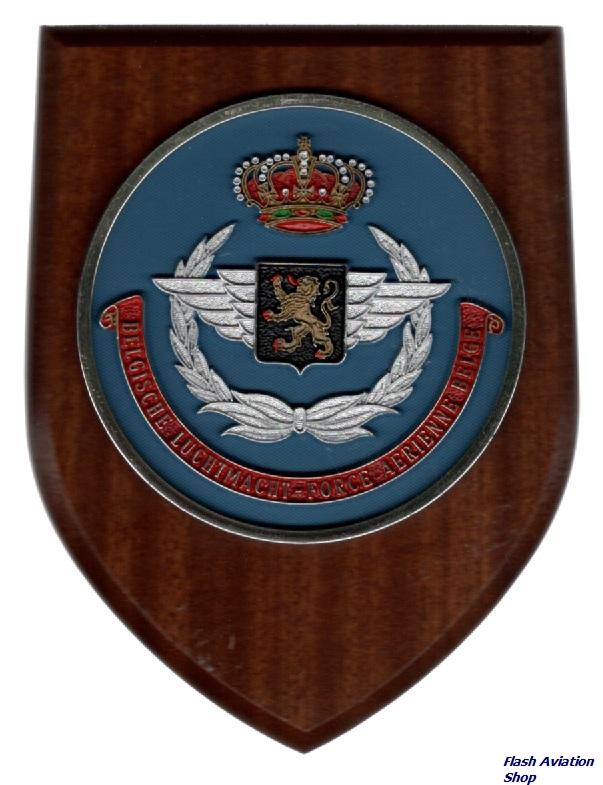 Image not found :Belgische Luchtmacht - Force Aerienne Belge (round)
