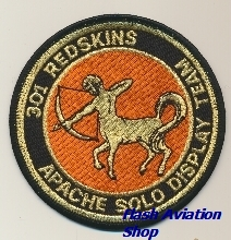 Image not found :301 Redskins, Apache Solo Display Team (Gold)