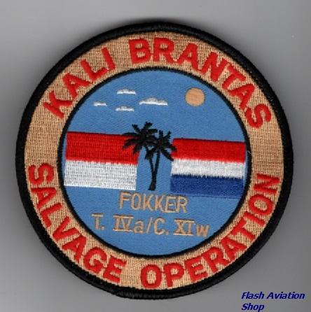 Image not found :Kali Brantas - Salvage Operation Fopkker T.IVa / C.XIw