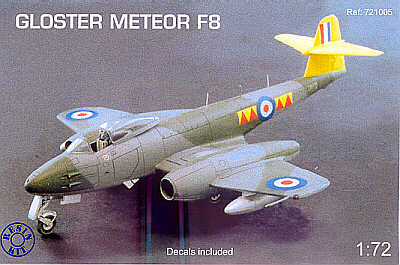 Image not found :Gloster Meteor F8 RAF