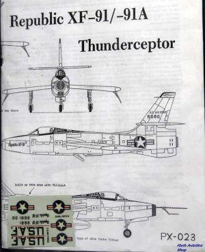 Image not found :Republic XF-91/-91A Thunderceptor