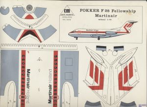 Image not found :Fokker F.28 Fellowship Martinair