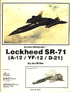 Image not found :Lockheed SR-71 (New Edition)