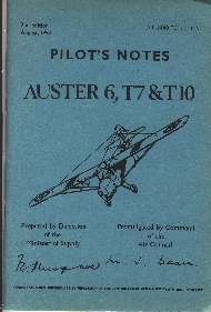 Image not found :Auster 6, T7 & T10